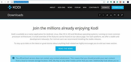 Kodi sur Android TV