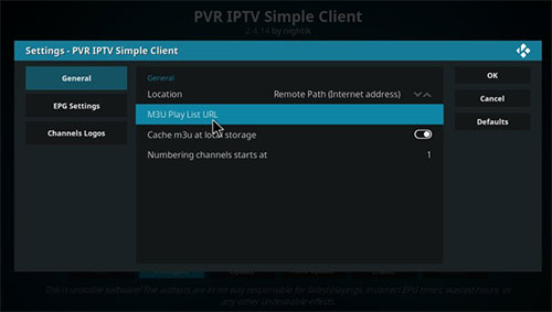 IPTV sur Xbox